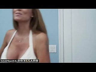 Mommy Got Boobs Dont Cum on my Sheets scene starring Darla Crane Danny Mou