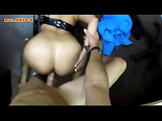 Latin police officer gets twat banged by pawn keeper