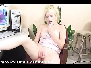 You can watch while I rub my wet pussy in pink panties