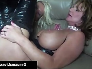 Role Play by Sexy Cat Woman Milf Deauxma Ends In Way Fuck!