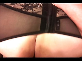 Fucking my blonde girlfriend in sexy lingerie . Listen to that pussy!
