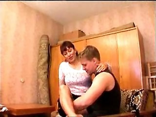 Russian Mom and Young Boys