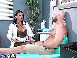 Gorgeous Slut Patient Audrey Bitoni Seduce And Bang With Doctor