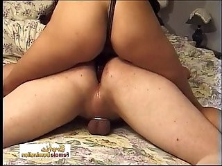 Horny Bitch Likes To Dominate Her Man