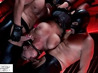 Hot fetish pussy with big titted cunts Kerry Louise and Elle Brook