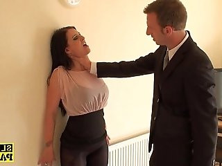 British sub dominated with dick