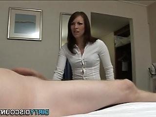 Dick sucking domina sperm