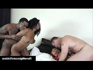 Tight Ebony Babes Banged By Rome Major Tommy Utah!