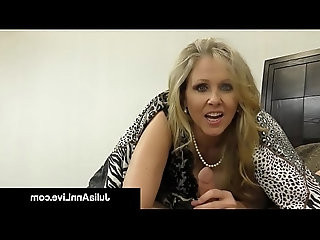 Hot Classy Milf Julia Ann Takes Cock In Her Mouth Hands!
