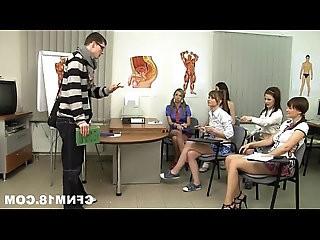 teacher school teens their cfnm punish