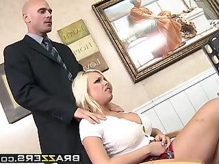 Big Tits at School Telling on the Teacher scene starring Britney Amber Johnny Sins