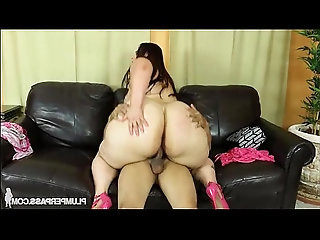 Big Booty BBW Victoria Secrets Twerks and Fucks Big Cock